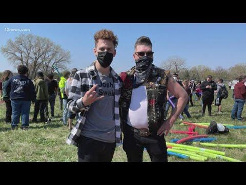 Phoenix student sparks viral 'Josh Fight' in Nebraska