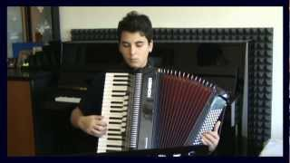 AKORDEON Resitali-Klasik Batı Müziği Eseri MOZART KONCERTO MAJOR Senfoni Sonat Gösteri Akor