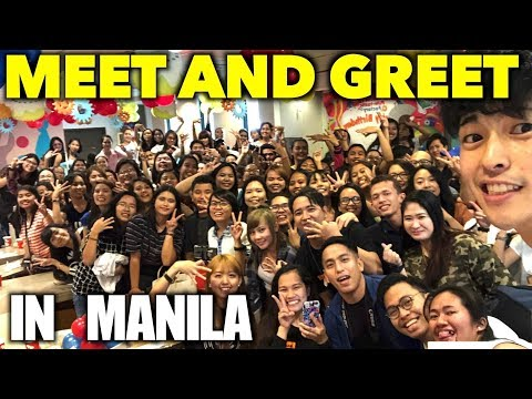 MY FIRST MEET AND GREET IN MANILA!!!!!!!!