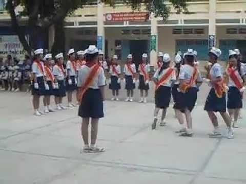 """Trường THCS Cầu Khởi (Hội thi nghi thức đội-Huyện DMC-Nam học: 2012-2013)""""video"""""""