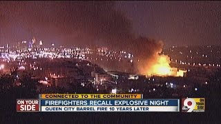 Firefighters Recall Explosive Night Of The Queen City Barrel Fire Of 2004