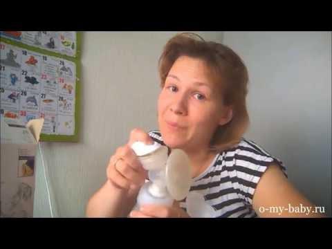 Видео-отзыв о молокоотсосе Philips AVENT SCF330/20 от Регины