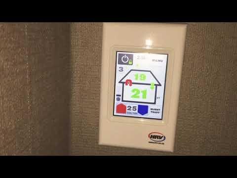 Rest HRV filter on touchscreen