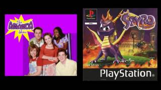 Spyro music from The Amanda Show (The Amanda Show Theme)