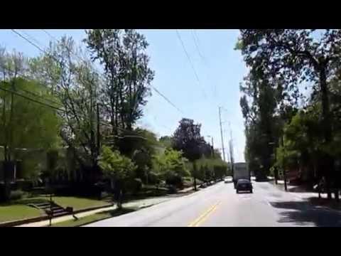 Monroe Drive NE from Piedmont Atlanta