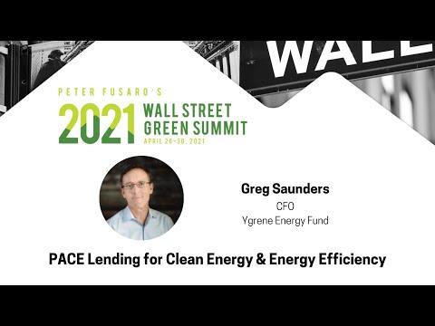 PACE Lending for Clean Energy & Energy Efficiency   Greg Saunders   2021 WSGS