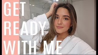 GET READY WITH ME! FIRST VIDEO EVER!!!