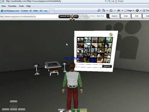 ExitReality - Search blinkx video in 3D