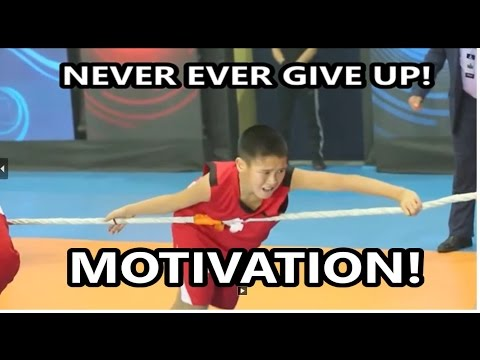 !!NEVER GIVE UP!!MOTIVATION OF KAZAKH CHILD !!!