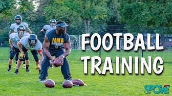 American Football Training bei den Blackhawks in Münster- SPOVE Sportcommunity