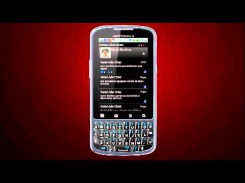 Motorola Pro: Contactos