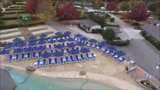 Nardi Omega Sun Loungers at Taupo Top 10 Holiday Park Resort - Taupo, New Zealand