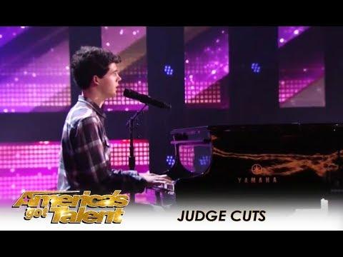 Joseph O'Brien: He's a Shy Small-Town Boy But He Has A Dream!   America's Got Talent 2018