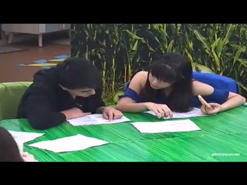 LS Feb 18 - Edward and Kisses reviewing their scripts