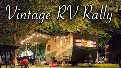 Groovin' at the Vintage Camper Trailer Rally