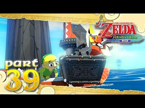 The Legend of Zelda: The Wind Waker HD - Part 39 - Remaining Treasure Charts