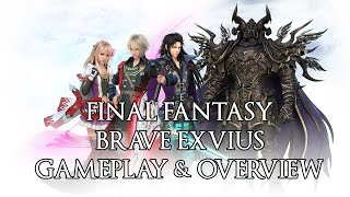 Final Fantasy: Brave Exvius Gameplay & Overview (English)