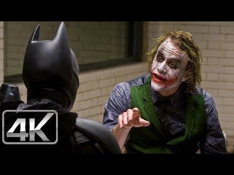 Joker & Batman Interrogatorio - LATINO (4k-HD) The Dark Knight (2008)