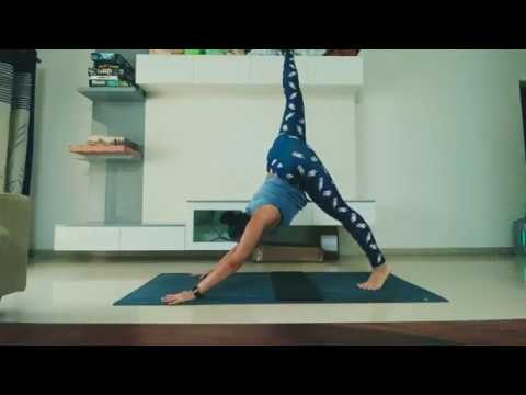 my daily simple 10min yoga routine  youtube