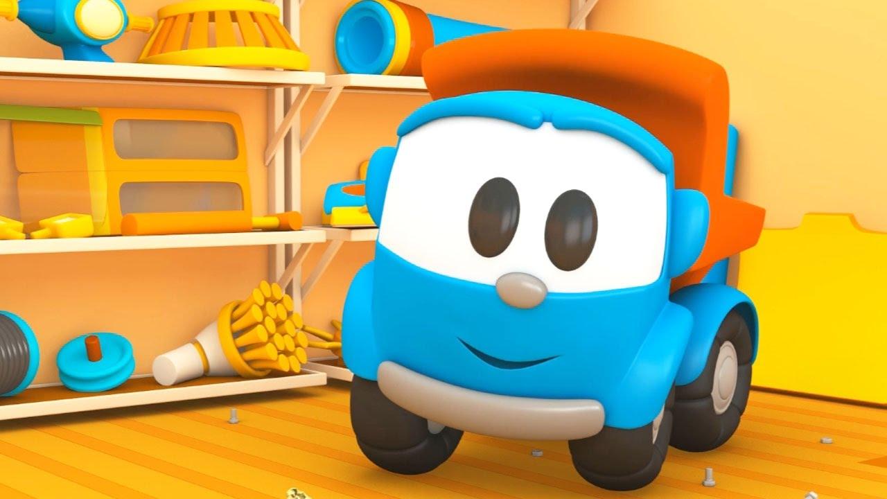 Cartoni animati per bambini leo il camion curioso e l