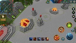 เมื่อเกม ROV มาอยู่ในมายคราฟ มายคราฟตีป้อมได้แล้ว Rov in Minecraft Pocket Edition
