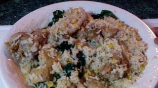 Making Basmati Rice with Chicken