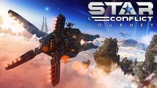 Трейлер обновления Star Conflict: Journey