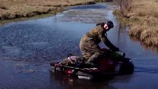 ATV Mudding 4x4 Compilation ATV Mud Riding in Wild Mud Bog
