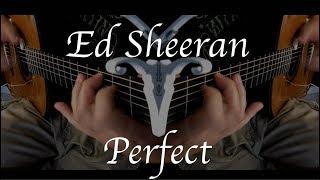 Kelly Valleau - Perfect (Ed Sheeran) - Fingerstyle Guitar