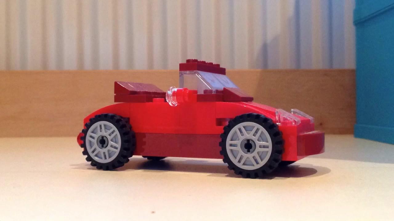 How to build a LEGO car (easy)