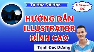 Học thiết kế đồ họa, hướng dẫn sử dụng phần mềm adobe Illustrator   Tự Học Đồ Hoạ