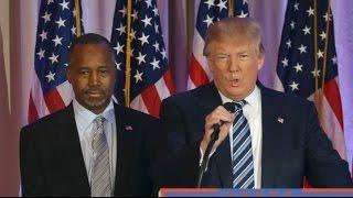 Ben Carson on Donald Trump: 'We Buried the Hatchet' [FULL SPEECH]