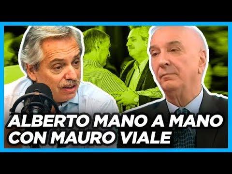 Alberto mano a mano con Mauro viale aclara todas las dudas