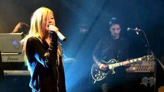 Download Avril Lavigne - Wish you were here live MP3 song and Music Video