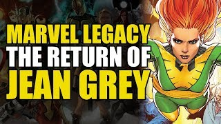 White Phoenix Returns? (Phoenix Resurrection: The Return of Jean Grey)