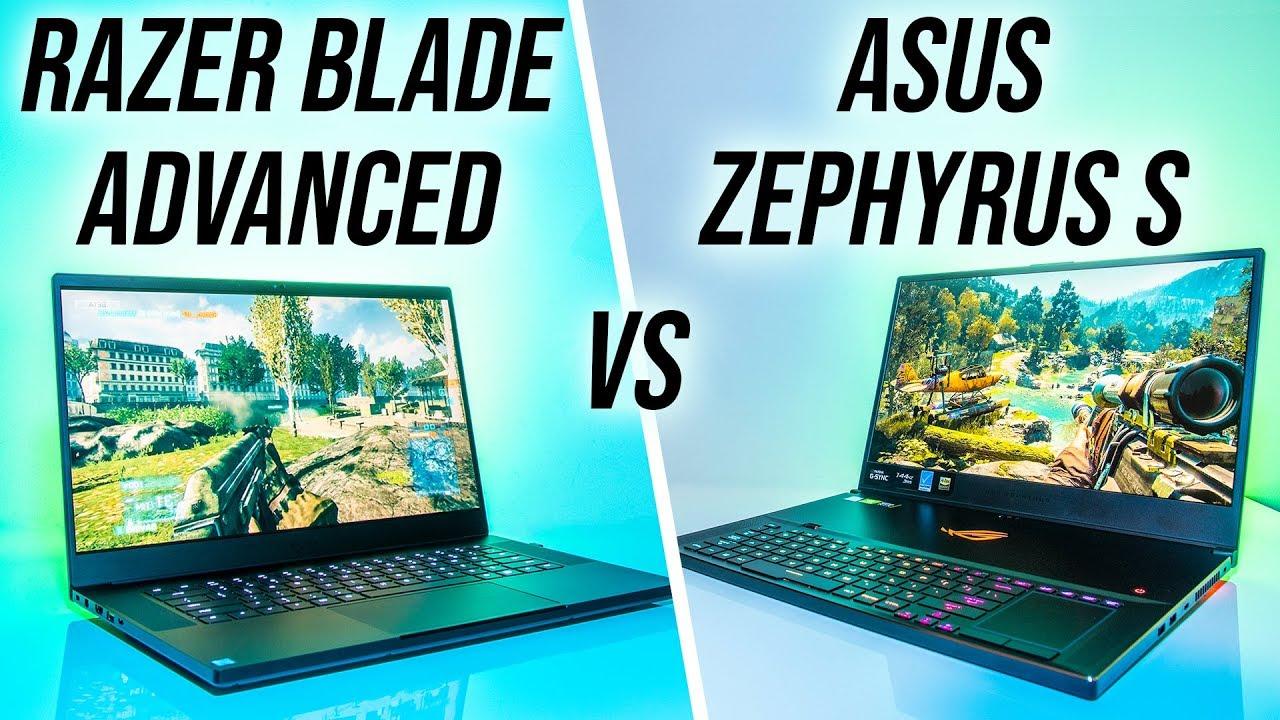 ASUS Zephyrus S (GX701) vs Razer Blade 15 Advanced - RTX Gaming Laptop Comparison