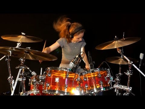 Rosanna (Toto); drum cover by Sina