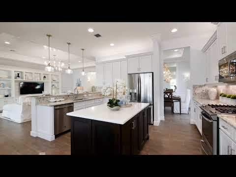 The Caroline Plan in the Vintage Collection at Valencia Cay in Port St. Lucie Florida.