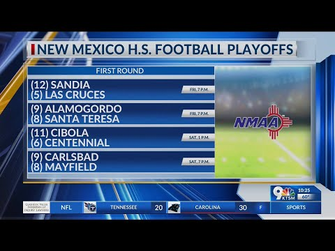 NMAA Releases High School Football Playoff Brackets