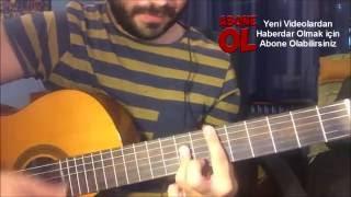 Gitme Seviyorum / Harun Kolçak (ft. Tan) / Gitar Cover