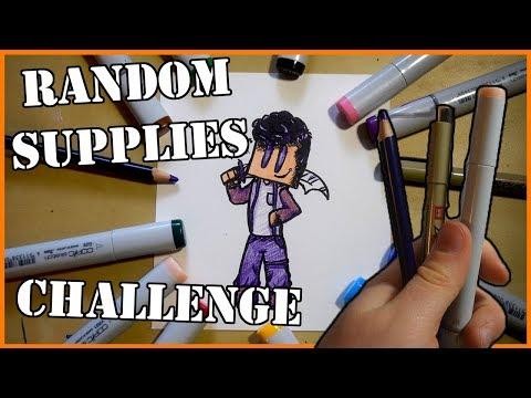 RANDOM ART SUPPLIES CHALLENGE
