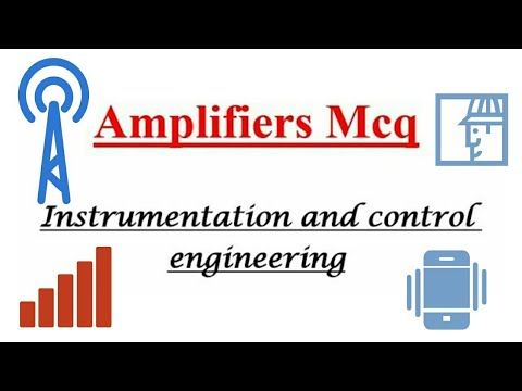 Amplifiers Mcq ( Instrumentation and control engineering)