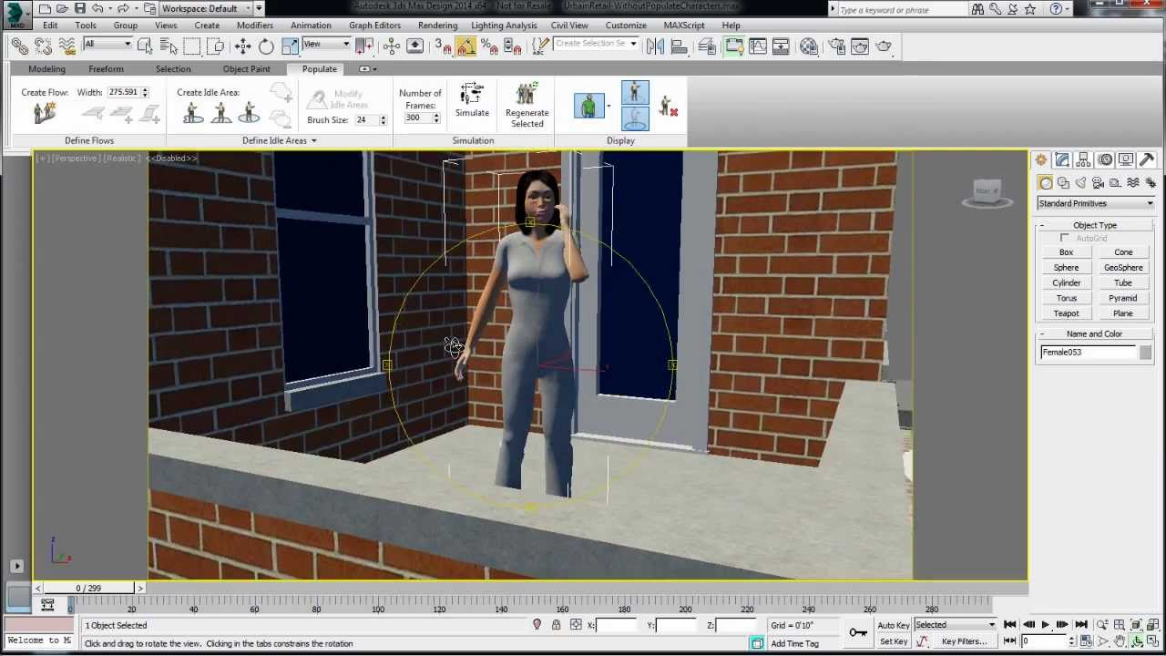 Tips & Tricks Autodesk 3ds Max Design 2014: Populate tips #6: Tips ...
