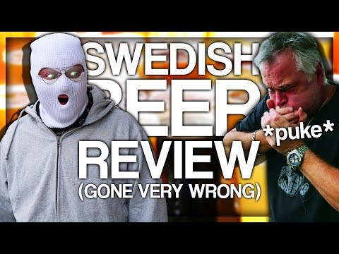 SWEDISH BEER REVIEW (GONE VERY WRONG)