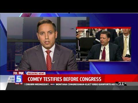 Attorney Vikas Bajaj Featured on Fox 5 News Discussing James Comey's Testimony