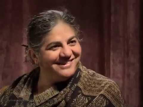 Vandana Shiva — Biodiversity or GMOs?