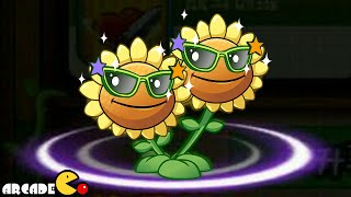Plants Vs Zombies 2 Kung Fu World: NEW Level 2 Twin Flower (China Version)