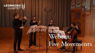 A. Webern: Fünf Sätze für Streichquartett op. 5