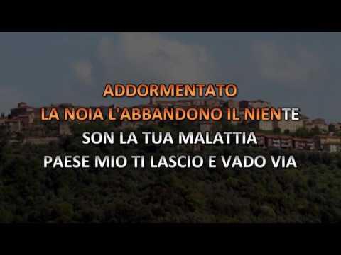 Patrizio Buanne - Che Sara' (Video karaoke)