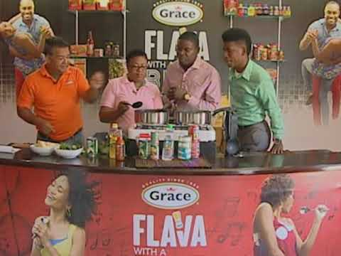 GRACE Flava with a Beat - Grenada's Oil Down Dish